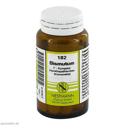 182 Bismutum F Komplex, 120 ST, Nestmann Pharma GmbH