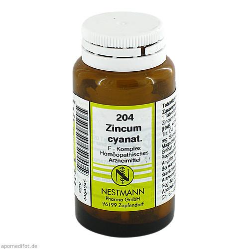 204 Zincum cyanat. F Komplex, 120 ST, Nestmann Pharma GmbH