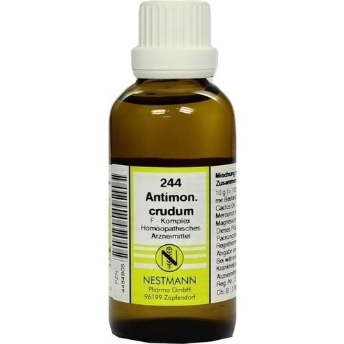 244 Antimon. crudum F Komplex, 50 ML, Nestmann Pharma GmbH