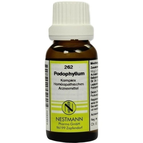 262 Podophyllum Komplex, 20 ML, Nestmann Pharma GmbH