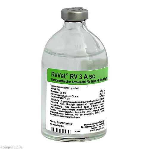 REVET RV 3A sc Inj.-Lösung vet., 100 ML, Dr.RECKEWEG & Co. GmbH