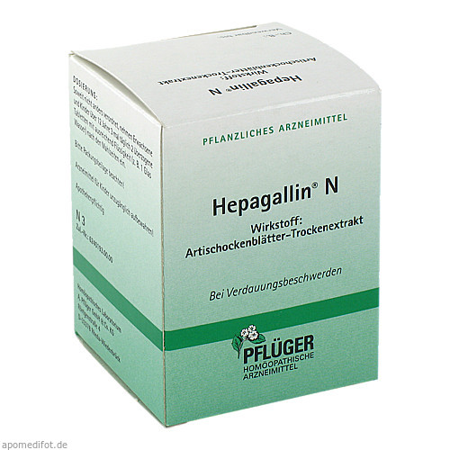HEPAGALLIN N, 100 ST, Homöopathisches Laboratorium Alexander Pflüger GmbH & Co. KG