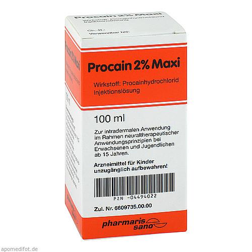 Procain Röwo 2% Maxi, 100 ML, Medphano Arzneimittel GmbH