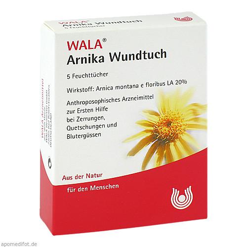 ARNIKA WUNDTUCH, 5 ST, Wala Heilmittel GmbH