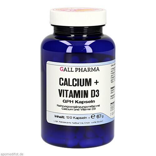 Calcium + Vitamin D3 GPH Kapseln, 120 ST, Hecht-Pharma GmbH