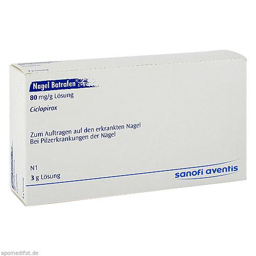 NAGEL BATRAFEN, 3 G, Sanofi-Aventis Deutschland GmbH GB Selbstmedikation /Consumer-Care