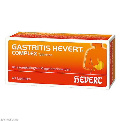 GASTRITIS HEVERT Complex Tabletten, 40 ST, Hevert Arzneimittel GmbH & Co. KG