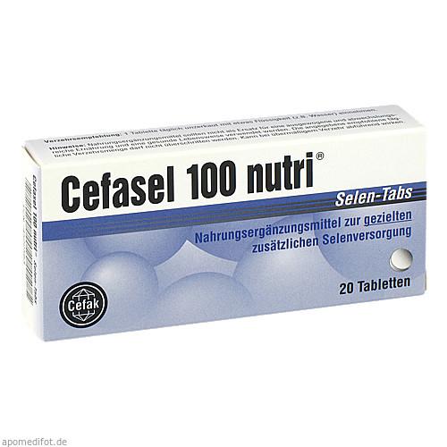 Cefasel 100 nutri Selen-Tabs, 20 ST, Cefak KG