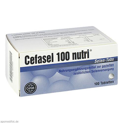 Cefasel 100 nutri Selen-Tabs, 100 ST, Cefak KG