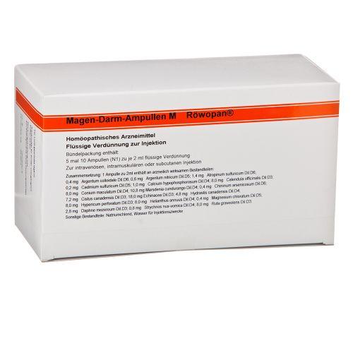 Magen-Darm-Ampullen M Röwopan, 5X10X2 ML, Medphano Arzneimittel GmbH