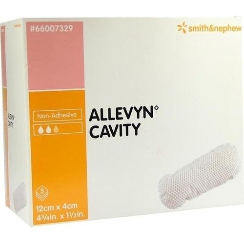 ALLEVYN Cavity 4x12 cm hydrozell.Kis.f.tiefe Wun., 5 ST, Smith & Nephew GmbH