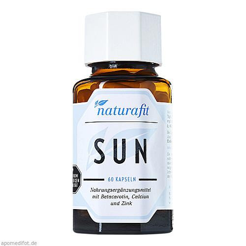 Naturafit Sun, 60 ST, Naturafit GmbH
