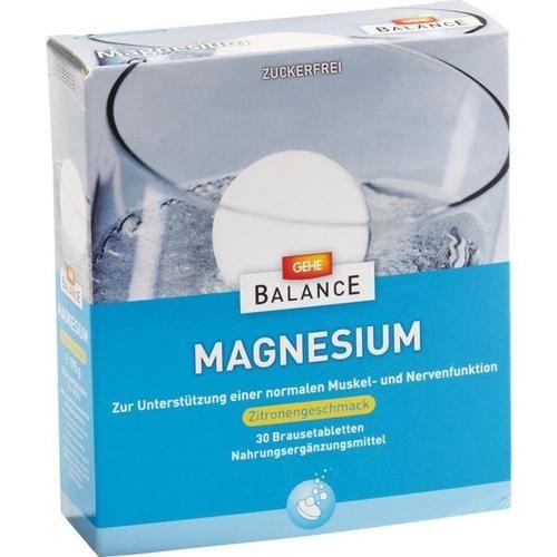 GEHE BALANCE MAGNESIUM 375mg, 3X10 ST, Gehe Pharma Handel GmbH
