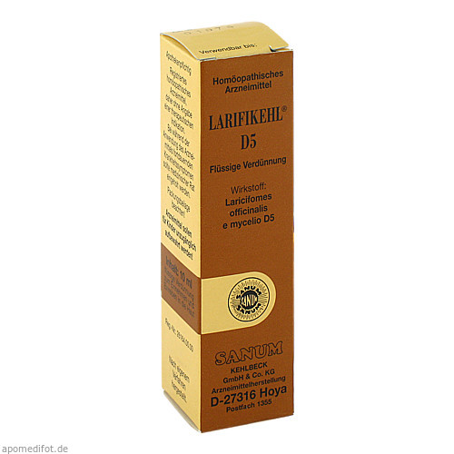 LARIFIKEHL D 5, 10 ML, Sanum-Kehlbeck GmbH & Co. KG