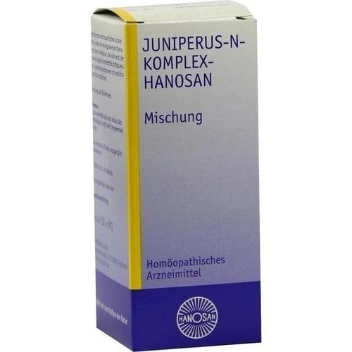 JUNIPERUS N Komplex Hanosan Tropfen, 50 ML, HANOSAN GmbH