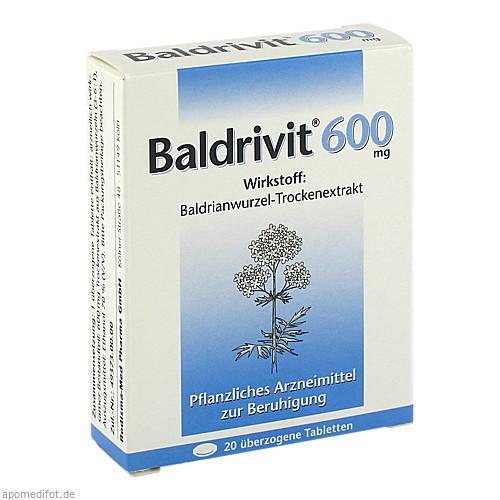 Baldrivit 600mg, 20 ST, Rodisma-Med Pharma GmbH