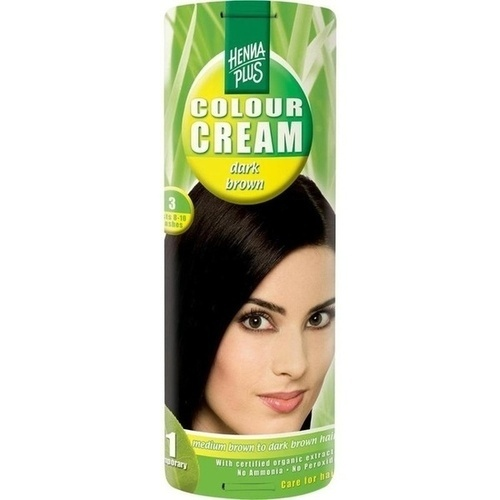 Colour Cream Dark Brown 3, 60 ML, Frenchtop Natural Care Products B.V