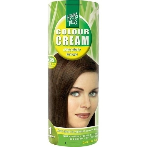 Colour Cream Chocolate Brown 6.35, 60 ML, Frenchtop Natural Care Products B.V