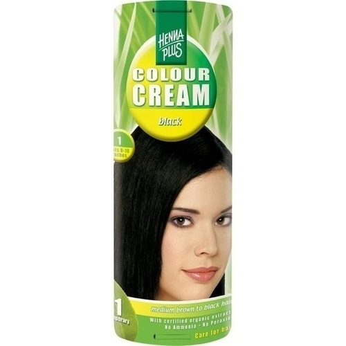 Colour Cream Black 1, 60 ML, Frenchtop Natural Care Products B.V
