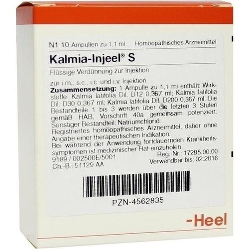 KALMIA INJ S, 10 ST, Biologische Heilmittel Heel GmbH