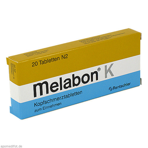 MELABON K, 20 ST, Medice Arzneimittel Pütter GmbH & Co. KG