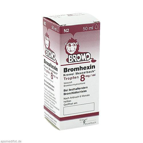 BROMHEXIN K.Meuselb.Trf.8mg/ml, 50 ML, Krewel Meuselbach GmbH