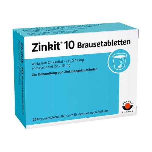 ZINKIT 10, 20 ST, Wörwag Pharma GmbH & Co. KG