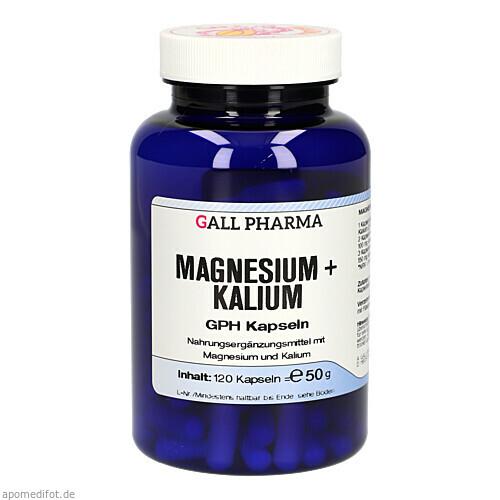 Magnesium + Kalium GPH Kapseln, 120 ST, Hecht-Pharma GmbH