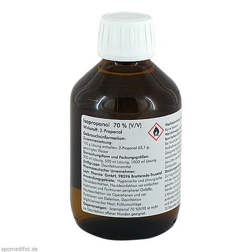 ISOPROPANOL 70%, 200 ML, Leyh-Pharma GmbH