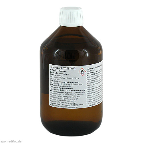 ISOPROPANOL 70%, 500 ML, Leyh-Pharma GmbH