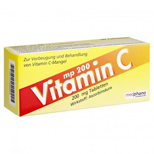 VITAMIN C 200MG, 50 ST, Abanta Pharma GmbH