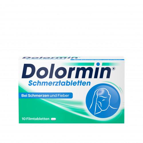 DOLORMIN, 10 ST, Johnson & Johnson GmbH (Otc)