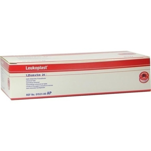 LEUKOPLAST 5MX1.25CM, 24 ST, Bsn Medical GmbH
