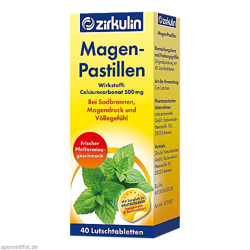 ZIRKULIN MAGEN PASTILLEN, 40 ST, DISTRICON GmbH
