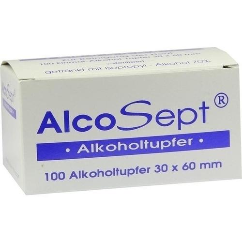 ALKOHOLTUPF ALCOSEPT200100, 100 ST, Büttner-Frank GmbH