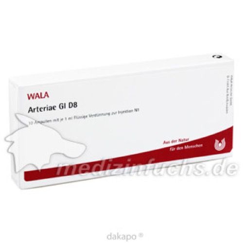 ARTERIAE GL D 8, 10X1 ML, Wala Heilmittel GmbH