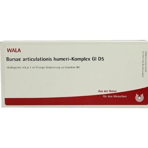 BURSAE ARTI HUM-KOM GL D 5, 10X1 ML, Wala Heilmittel GmbH