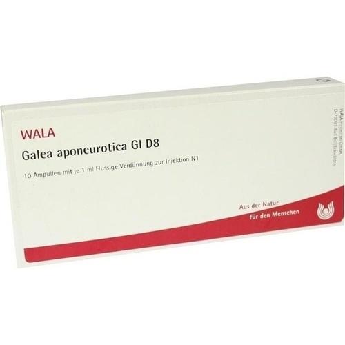 GALEA APONEUROTICA GL D 8, 10X1 ML, Wala Heilmittel GmbH