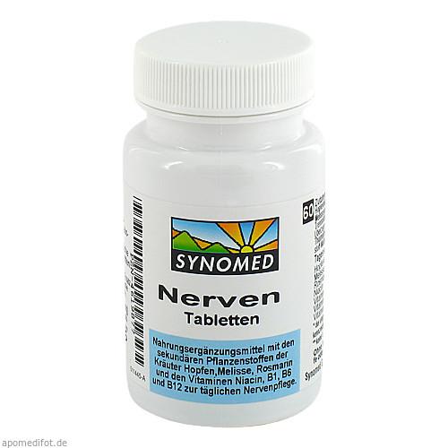 Nerven Tabletten, 60 ST, Synomed GmbH