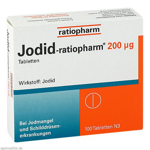 Jodid-ratiopharm 200ug, 100 ST, ratiopharm GmbH