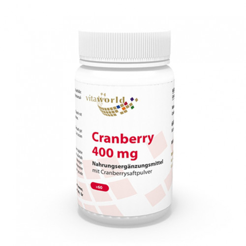 CRANBERRY (400MG), 60 ST, Vita World GmbH