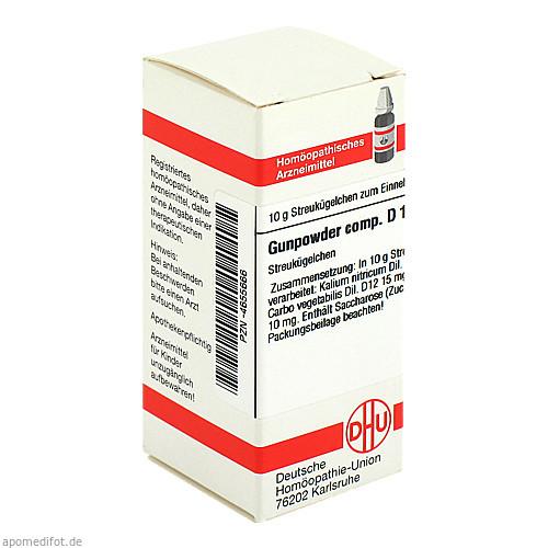 Gunpowder comp. D12, 10 G, Dhu-Arzneimittel GmbH & Co. KG