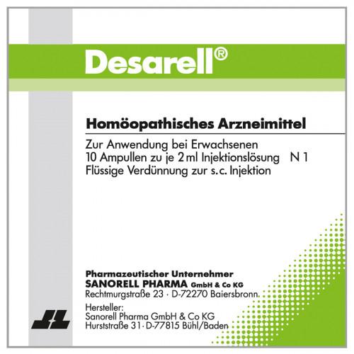 Desarell, 10X2 ML, sanorell pharma GmbH & Co KG