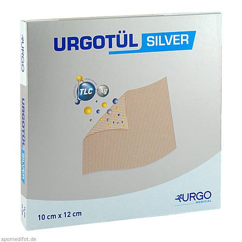 Urgotuel silver 10x12cm, 10 ST, Urgo GmbH