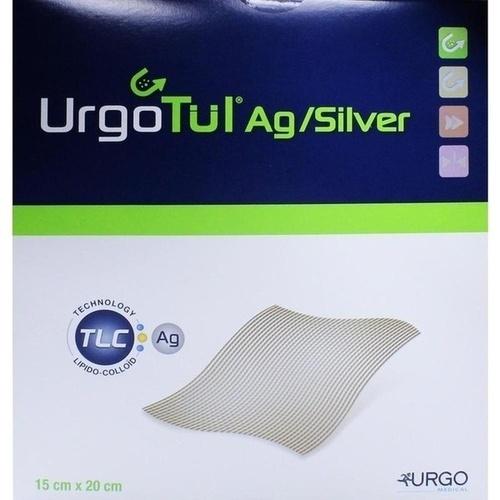 Urgotuel silver 15x20cm, 5 ST, Urgo GmbH