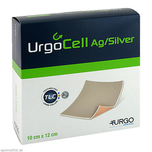 Urgocell silver Non-Adhesive 10x12cm, 10 ST, Urgo GmbH