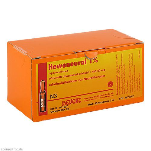 HEWENEURAL 1% Ampullen, 50X2 ML, Hevert Arzneimittel GmbH & Co. KG