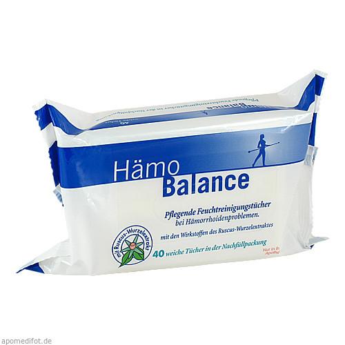 Hämo Balance Pflegende Reinigungstücher, 40 ST, Nölken Hygiene Products GmbH