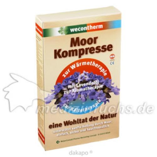Wecontherm Moor Kompresse Universal, 1 ST, Weber Consult