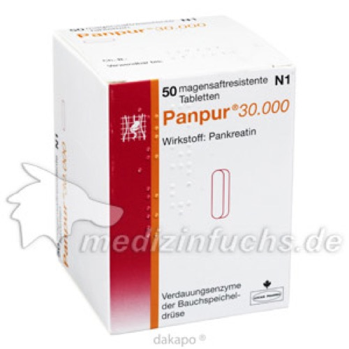 PANPUR 30000, 50 ST, ALLERGAN PHARMACEUTICALS INTERNATIONAL LIMITED